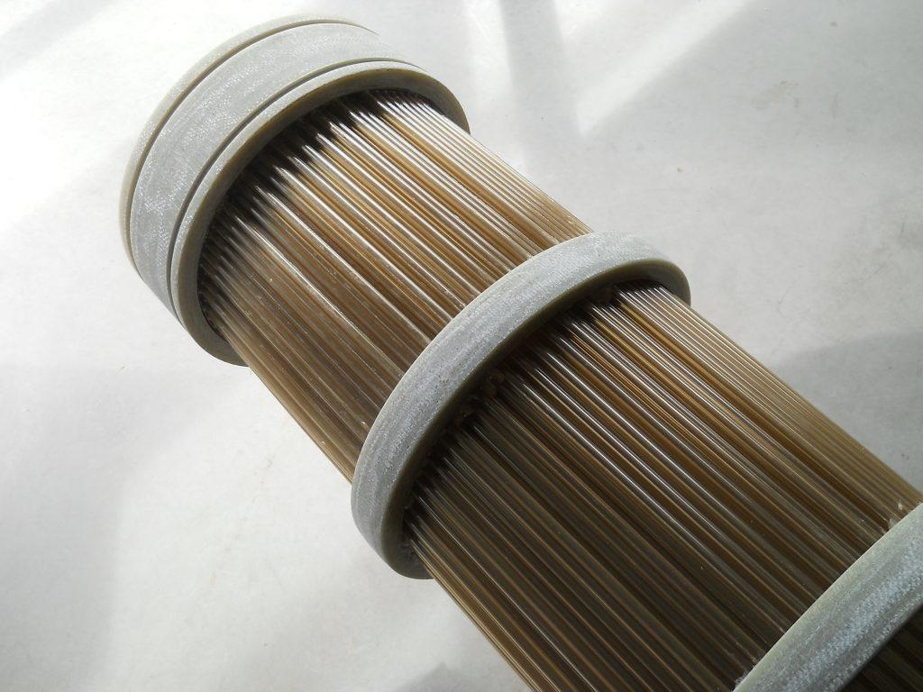 HeatMatrix polymer air preheater bundle