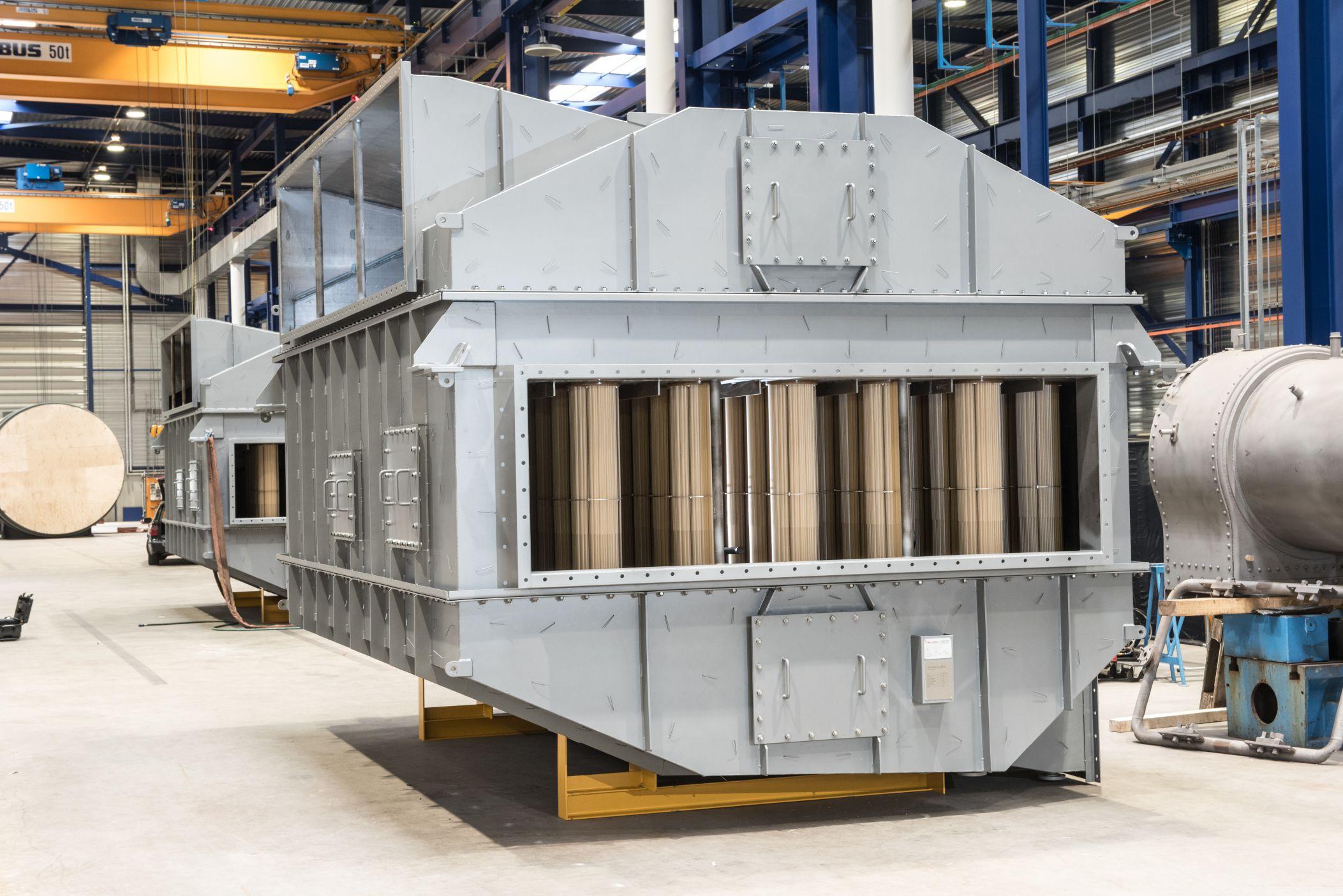 HeatMatrix polymer air preheater